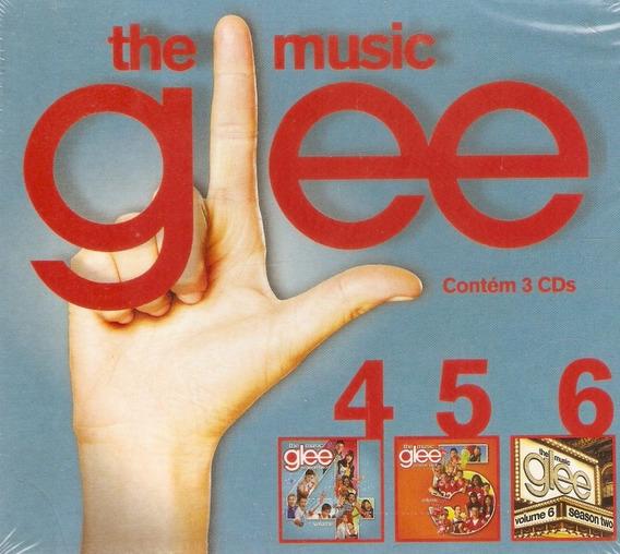 Box Cds Glee - The Music - 4, 5 E 6 - Novo Lacrado***