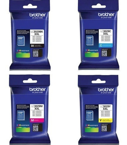Kit Cartucho Tinta Brother Lc-3029 J6935 Mfc-j6935dw Lc3029