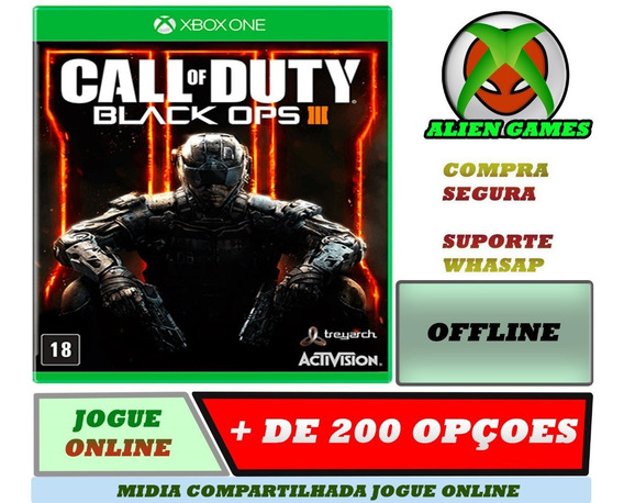 Call Off Duty Black Ops 3 Offline Xbox One