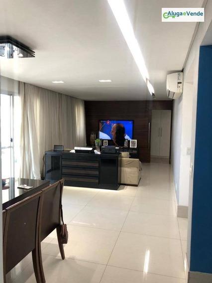 Apartamento Com 3 Suítes, 2 Vagas De Garagem À Venda No Condomínio Parque Clube, 134 M² Por R$ 850.000 - Vila Augusta - Guarulhos/sp - Ap0144