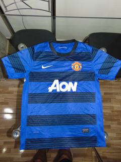 Camisa Do Manchester Infantil 2º Camisa Temporada 2011/12