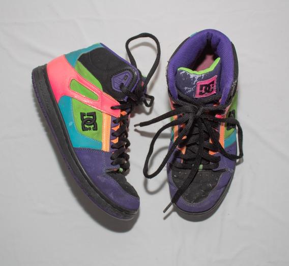 Zapatillas Botita Dc Importadas Varios Colores T.36