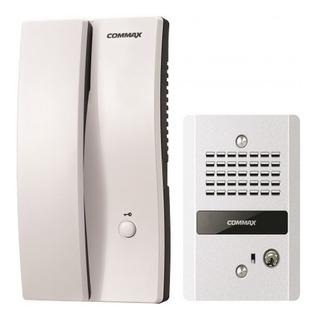 Kit Interfon Commax Auricular Y Frente De Calle Audio 2 Vias