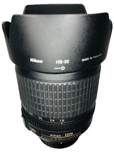Lente 18-105mm Nikon Af-s Semi Nova Impecável