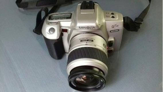 Câmera Fotográfica Semi-profissional Minolta 35-80 Zoom