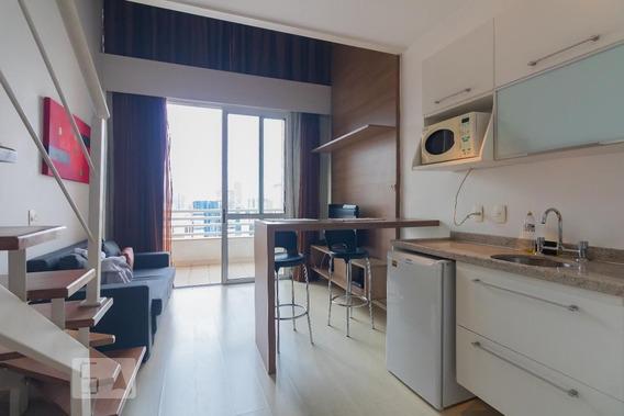 Apartamento No 23º Andar Mobiliado Com 2 Dormitórios E 2 Garagens - Id: 892991076 - 291076