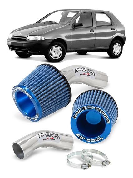 Kit Air Cool Filtro Esportivo Palio 96 97 98 99 1.0 1.5 8v