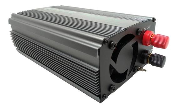 Inversor De Voltagem Automotivo 24v Para 110v 1000w Real
