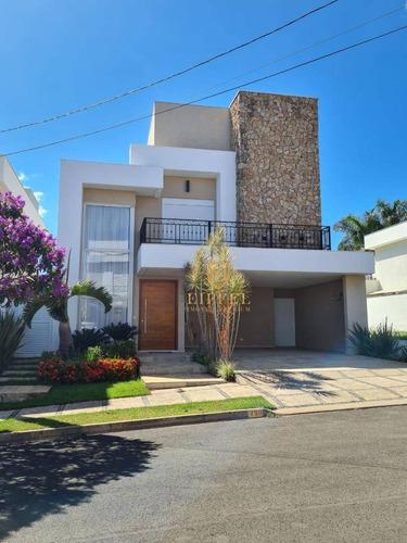 Casa Com 4 Dormitórios À Venda, 324 M² Por R$ 1.980.000,00 - Condomínio Mont Blanc - Sorocaba/sp - Ca0107