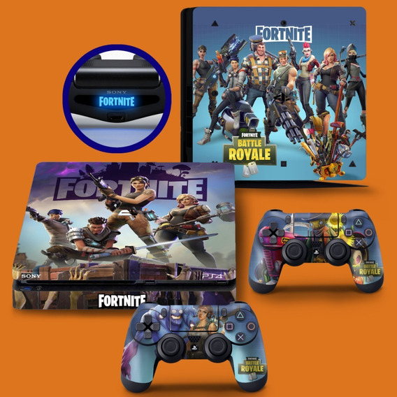 Skin Adesivo Playstation 4 Slim Ps4 Fortnite Battle Royale