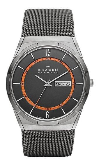 Relógio Skagen Masculino Titanium Slim - Skw6007