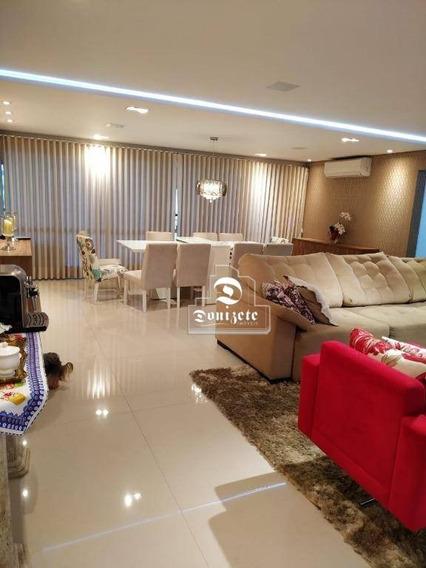 Apartamento Com 4 Dormitórios À Venda, 236 M² Por R$ 2.500.000 - Jardim Bela Vista - Santo André/sp - Ap11074