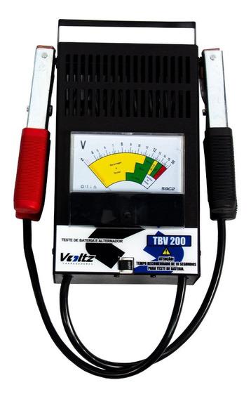 Testador De Bateria Automotiva 12v Tb200 - Vooltz