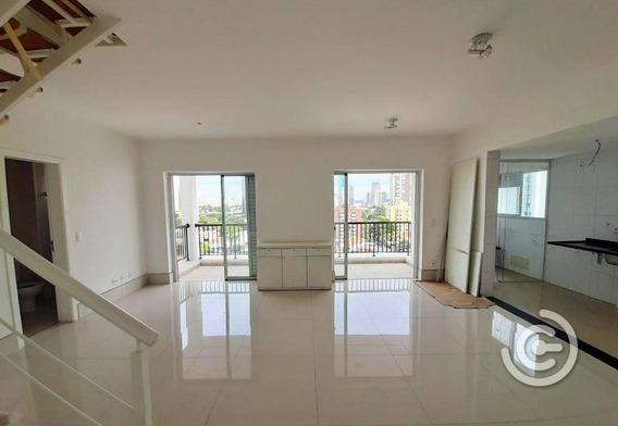 Apartamento Duplex Com 3 Dormitórios À Venda, 106 M² Por R$ 1.240.000,00 - Brooklin - São Paulo/sp - Ad0042