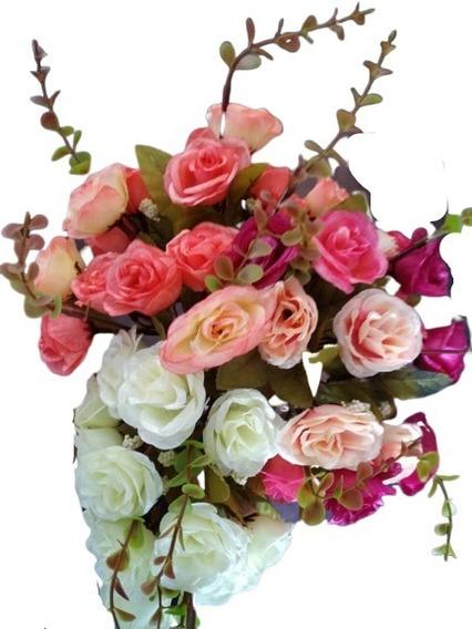 15 Ramos De Flores Artificiales (incluye Envío)