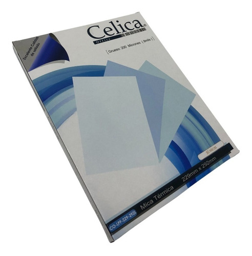 Imagen 1 de 5 de Mica Termica Celica Con 50 Pzas Tamaño Carta