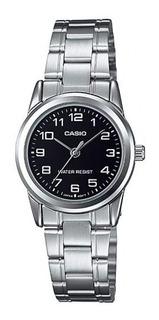 Reloj Casio Mujer Ltp-v001d Analogico Acero Impacto Online