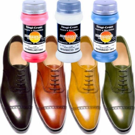 Tinta Sapato Botas E Artigos Couro E Sinteticos 100 Ml