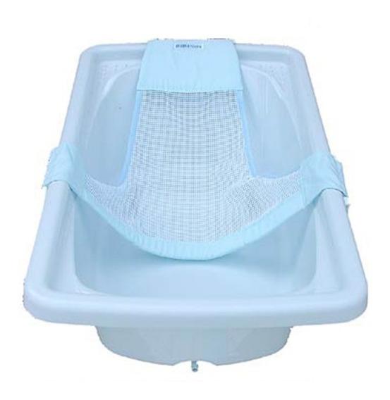 Rede Proteção Banheira Menino/a Segurança Bebê Rd01 Azul