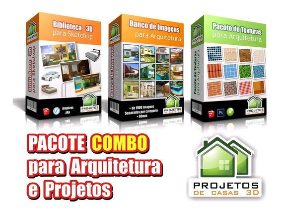Pacote Combo Modelos Para Arquitetura, Engenharia E Projetos