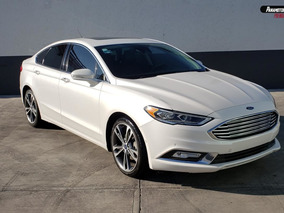 Ford Fusion Titanium Plus Blanco 2017