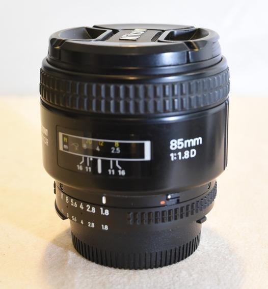 Lente Nikkor Nikon 85mm 1.8d