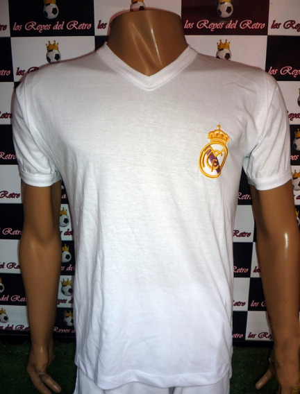 Camiseta Real Madrid Retro Decada Del 60/ 70 Distefano