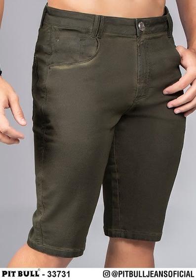 Bermuda Jeans Masculina Pit Bull Jeans Original 33731 (enc)