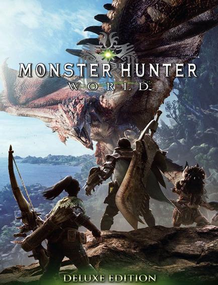 Monster Hunter World Deluxe Pc - Steam Key (envio Rápido)