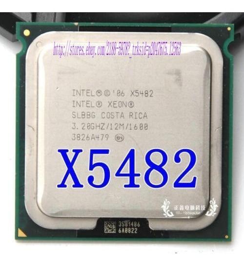 Intel Xeon X5482 Quad Core 3.20ghz / 12m / 1600 - Lga 771