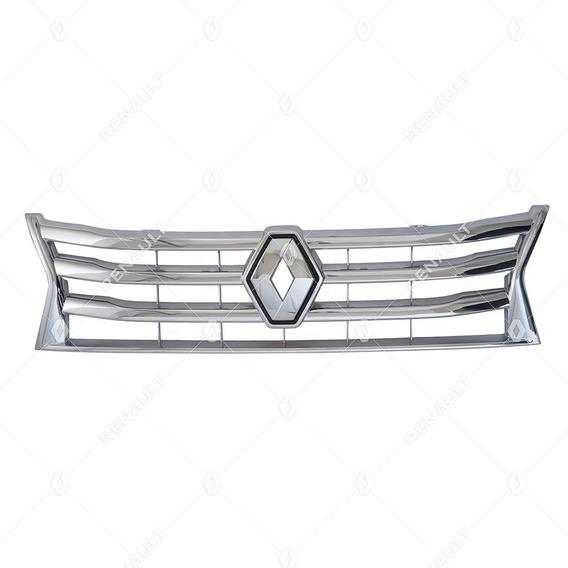 Grade Dianteira Cromada Renault Duster Até 2014 623825665r