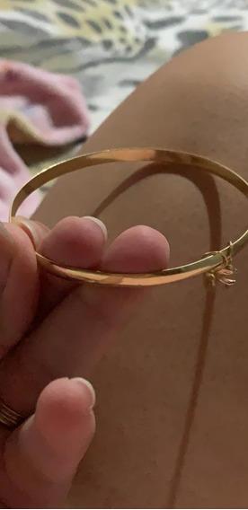 Vendo Bracelete Em Ouro 18 K Com 2 Pingente 10 Gramas