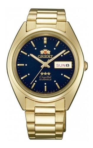 Reloj Orient Automatico 3 Estrellas Dorado Hombre Original