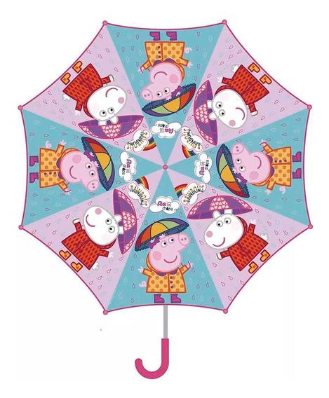 Peppa Pig Paragua Infantil Grande Cresko Pp295