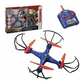 Drone Quadricoptero Transformers 4canais 2.4g 360º Rotação