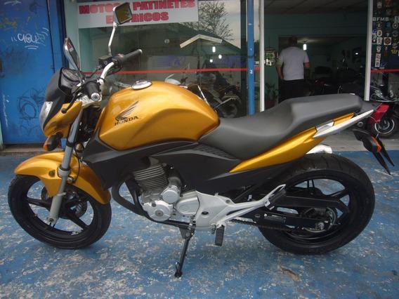 Honda Cb 300 R Amarela Ano 2011 R$ 7.999 Troca Financia
