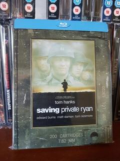 Steelbook Saving Private Ryan Salvando Al Soldado Bluray Usa