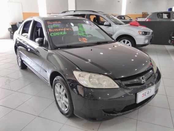 Honda Civic Sedan Lxl 1.7 16v (aut) Gasolina Automático