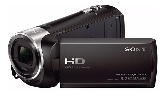 Filmadora Digital Full Hd Sony Hdr-cx240 Zoom 27x Top Linha