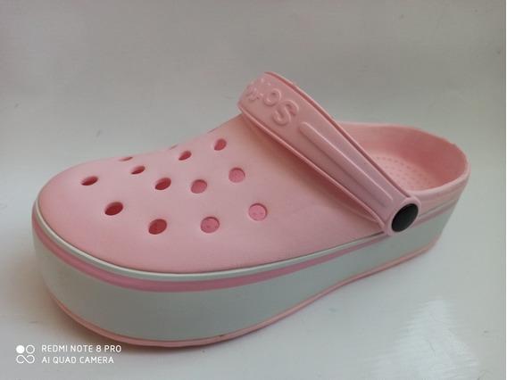 Zueco Crocs Soft 110 Alto Mujer 35-40