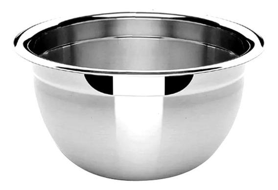 Tigela Funda De Aço Inoxidavel Para Salada 30 Cm Cozinha