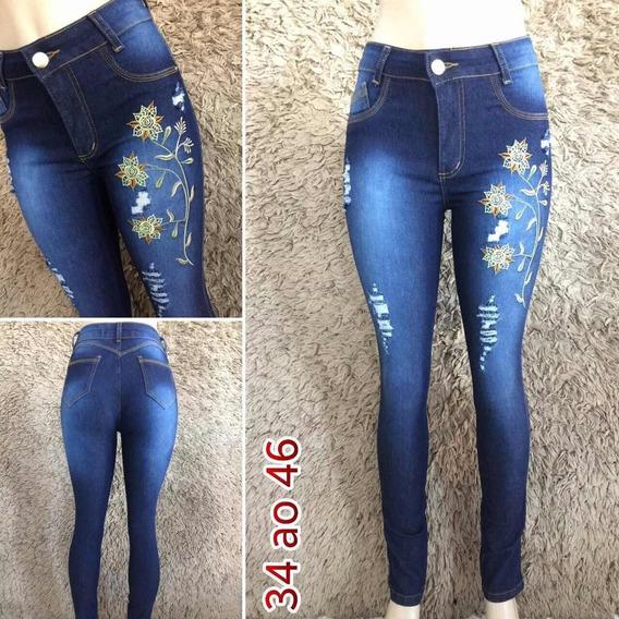 Calça Feminina Jeans A Pronta Entrega Em Promoção