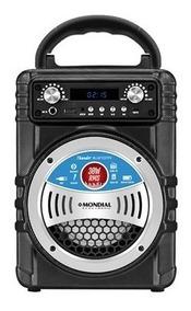 Caixa Som Potente 30w Rádio Fm Bluetooth Portátil Karaokê