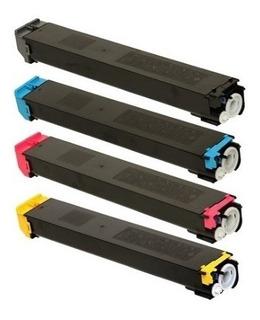 Kit De Toner Sharp Color Mx4110 4111 5140 4141 5111 4140