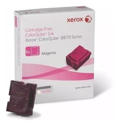 Imagen 1 de 4 de Tinta Solida Xerox Magenta Colorqube 8880 8870 108r00959