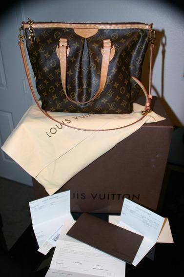 Bolsa Louis Vuitton Palermo Pm C/nota, Caixa E 100% Original