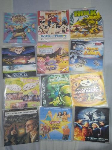 50 Películas En Dvd Infantiles