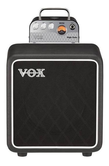 Combo Cabeçote Guitarra Vox Mv50 High Gain + Caixa Bc108 25