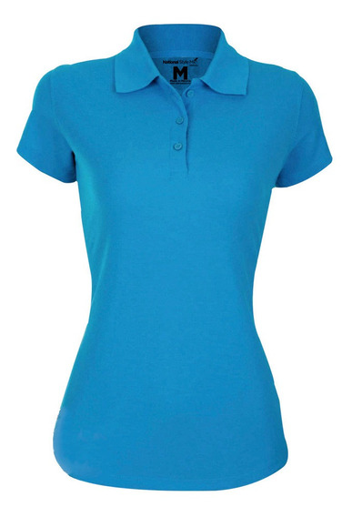 Playera Polo Casual Para Mujer National Style