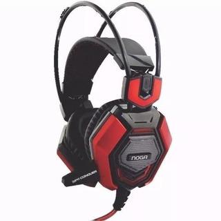 Auricular Gamer Con Microfono Conquer Noganet